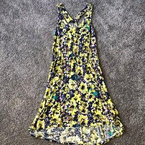 H&M * Floral Racer Back High Low Summer Dress
